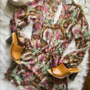 Show Me Your Mumu Rainey Mini Dress